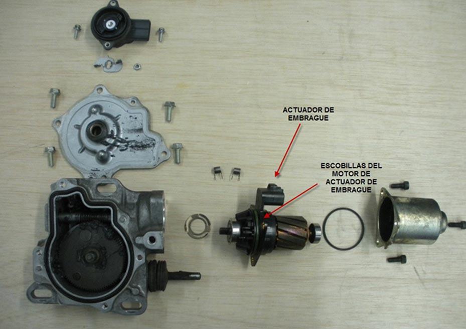 El motor no arranca y el cambio automático indica avería